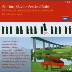 Ruhr Piano Festival Edition Vol. 14: Mozart, Variations & New Piano Music