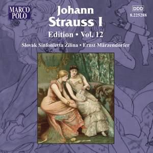 Johann Strauss I Edition, Volume 12