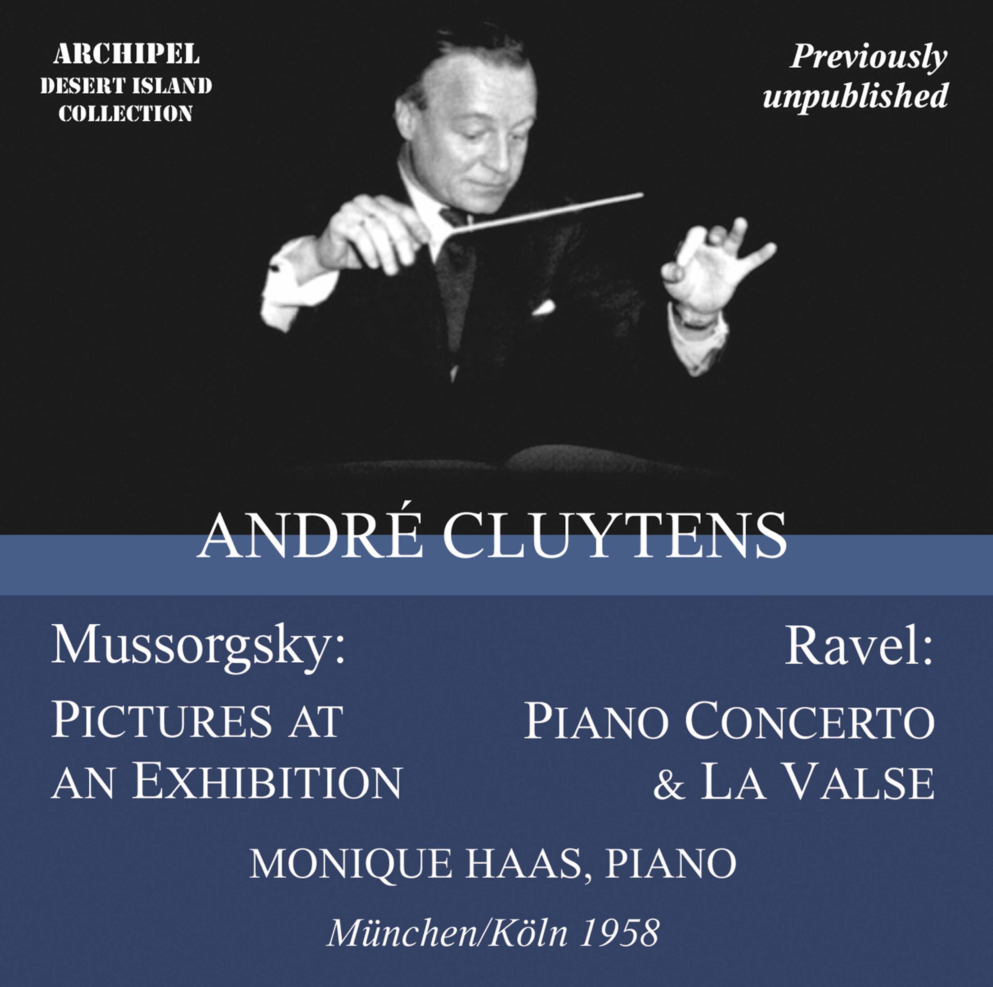 Andre Cluytens conducts Ravel & Mussorgsky