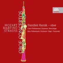Mozart, Martinu & Strauss - Oboe Concertos