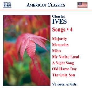 Ives - Songs Volume 4