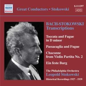 Bach/Stokowski - Transcriptions Volume 1