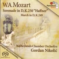 Mozart - Serenade & March in D