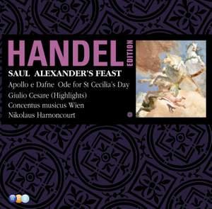 Handel Edition Volume 7 - Saul, Alexander's Feast, etc.