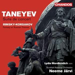 Neeme Järvi conducts Taneyev & Rimsky-Korsakov Product Image