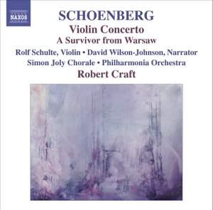 Schoenberg - Violin Concerto Product Image