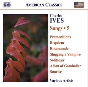 Ives - Songs Volume 5 Product Image