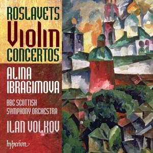 Roslavets - Violin Concertos Product Image