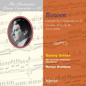 The Romantic Piano Concerto 46 - York Bowen