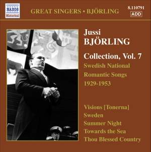 Jussi Björling Collection, Vol. 7 Product Image