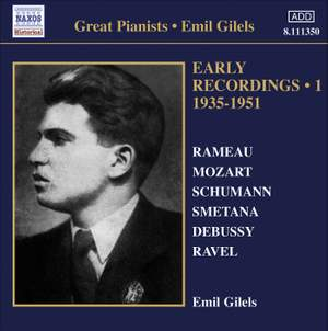 Emil Gilels: Early Recordings Volume 1