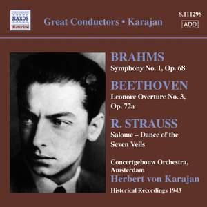 Herbert von Karajan conducts Brahms, Beethoven & Strauss