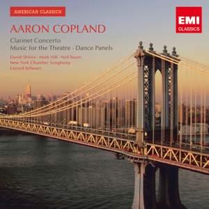 Copland - Clarinet Concerto & Music for the Theatre