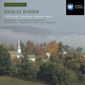 Barber - Cello Sonata, Excursions & Summer Music
