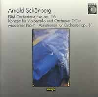Schoenberg - Five Orchestral Pieces