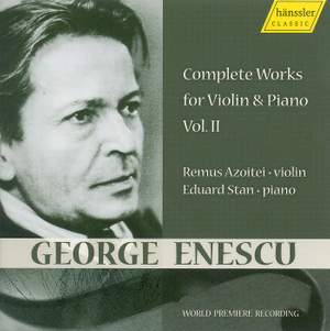 Enescu - Works for Violin and Piano