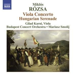 Rozsa - Viola Concerto