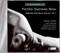 Boni, G G: Sonatas for cello and harpsichord, Op. 1