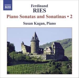 Ferdinand Ries: Piano Sonatas and Sonatinas Volume 2