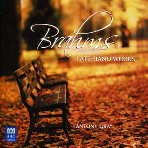 Brahms: Late Piano Works Product Image