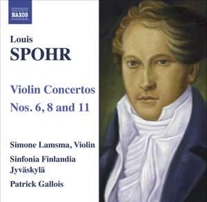 Spohr - Violin Concertos Nos. 6, 8 & 11 Product Image