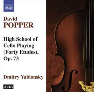 Popper: Hohe Schule des Violoncellospiels (40 etudes), Op. 73 Product Image