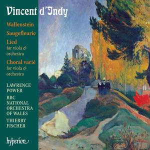 Indy: Wallenstein and other orchestral works