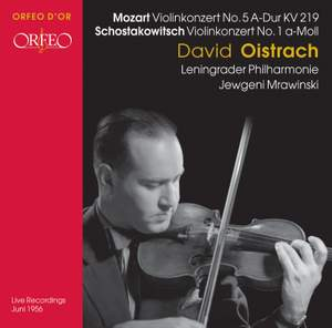 Mozart & Shostakovich - Violin Concertos