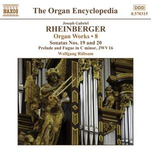 Rheinberger: Works For Organ, Vol. 8