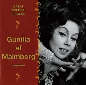 Gunilla af Malmborg - Great Swedish Singers