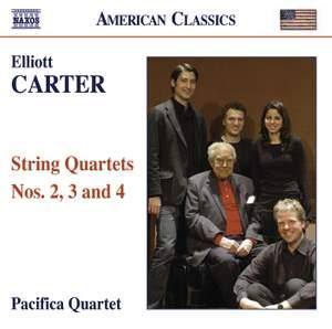 Elliott Carter - String Quartets Volume 2
