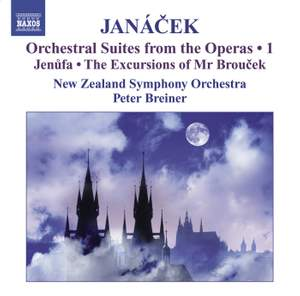 Janácek - Orchestral Suites from the Operas Volume 1