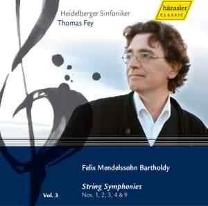 Mendelssohn - Complete Symphonies Volume 3 Product Image