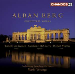 Berg - Orchestral Works Product Image