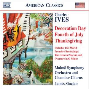 Ives - Holidays Symphony: II, III & IV Product Image
