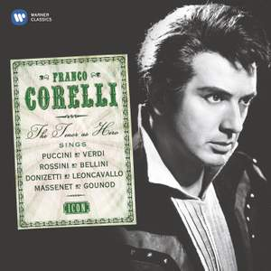 Franco Corelli: The Tenor as Hero Product Image