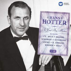 Hans Hotter: The Great Bass-Baritone