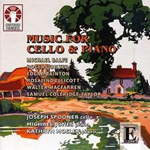 Romantics in England – Music for Cello & Piano