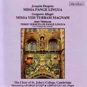 Allegri: Messe vidi turbam magnam, etc.
