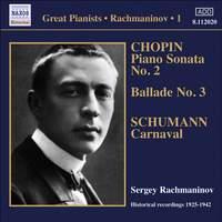 Rachmaninov - Solo Piano Recordings Volume 1