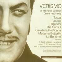 Verisimo at the Royal Swedish Opera 1952-1962