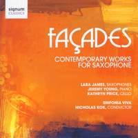 Façades - Contemporary Works for Saxophone