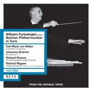Wilhem Furtwängler conducts Weber, Brahms, Strauss & Wagner