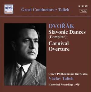 Václav Talich conducts Dvorak's Slavonic Dances