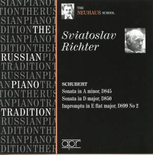 Sviatoslav Richter plays Schubert - The Neuhaus School