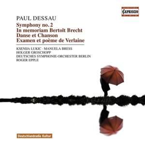 Dessau - Orchestral Works Product Image