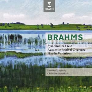 Brahms - Symphonies 1 & 2
