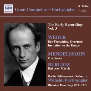 Furtwängler - The Early Recordings Voume 3