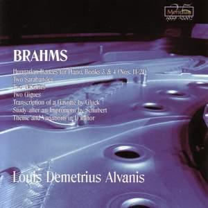 Brahms: Piano Music