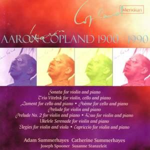 Copland: Music for Violin